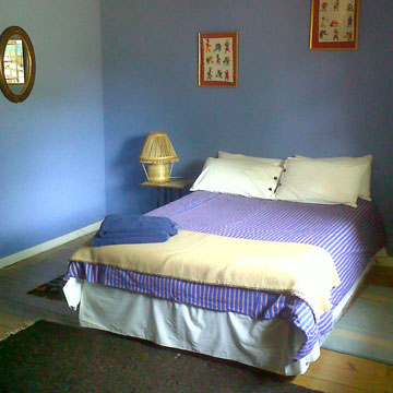 Backpackers accommodation - double room