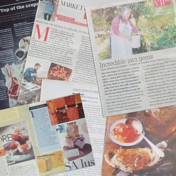 Magazine articles featuring Karma Home Products